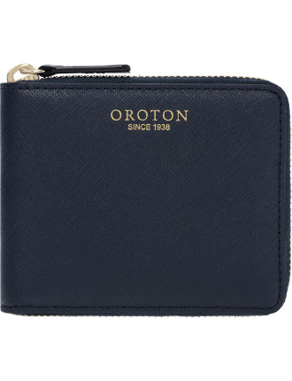 Estate Mini zip around wallet