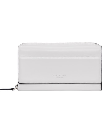 Forte Slim Muti Pocket Zip Around Wallet