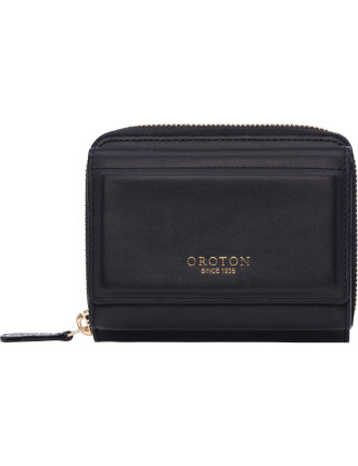 Forte Mini zip around wallet