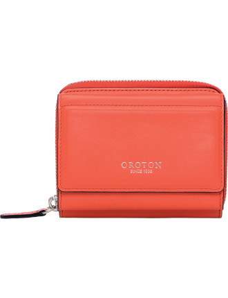 Forte Mini zip around wallet