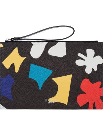 Avalon puzzle  wristlet pouch