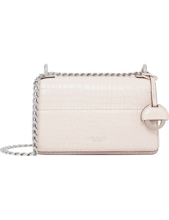 Forte Croco Mini clutch