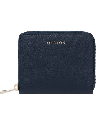 Maison Mini Multi Pocket Zip Around Wallet