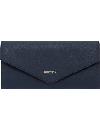 Maison  large travel clutch