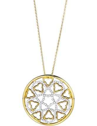 18ct Diamond Canterbury Pendant