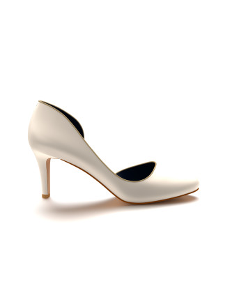 Round Toe D Orsay With Trim