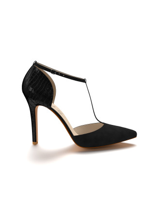 Pointed Toe Double D'Orsay with Ankle Strap