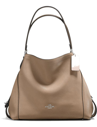 Edie Shoulder Bag 31 In Colorblock Mixed Materials