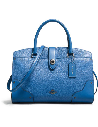 Mercer Satchel 30 In Mixed Leather