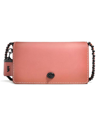 DINKY IN COLORBLOCK GLOVETANNED LEATHER