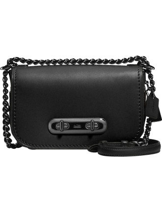 Coach Swagger Shoulder Bag 20 With Link Detail