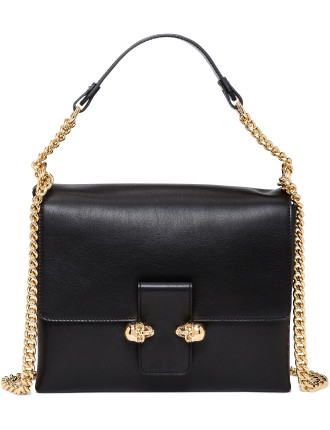 Twin Skull Chain Bag