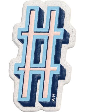 Hashtag Stickers Symbol
