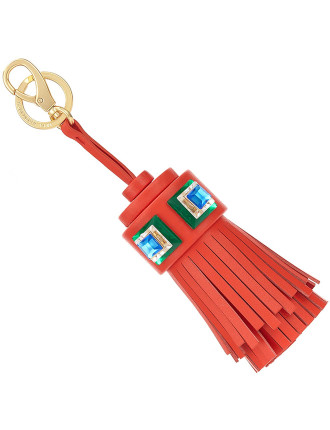 STONES GHOST TASSEL IN FLAME RED CIRCUS