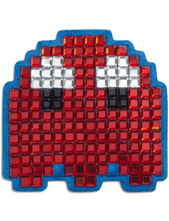 STICKERS GHOST IN FLAME RED CRYSTALS