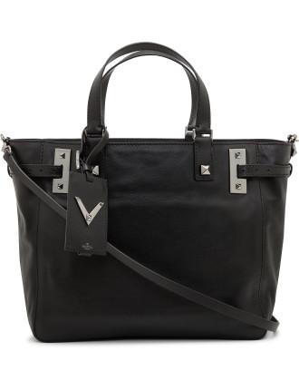Val Lw2b0114vp4 My Rockstud Noir Sml Dble Handle Bag