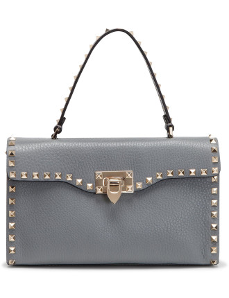 Val Lw2b0094vsf Rockstud Small Single Handle Bag