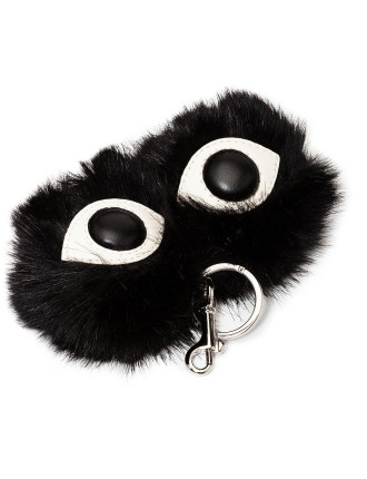 Eyes Key Ring Fur