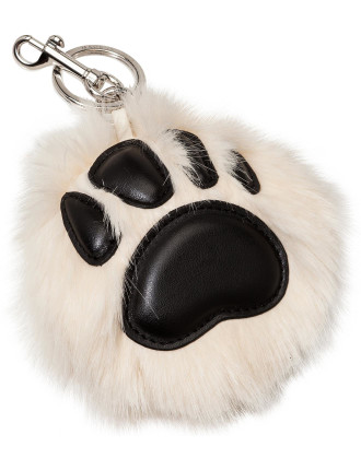 Paw Key Ring Fur