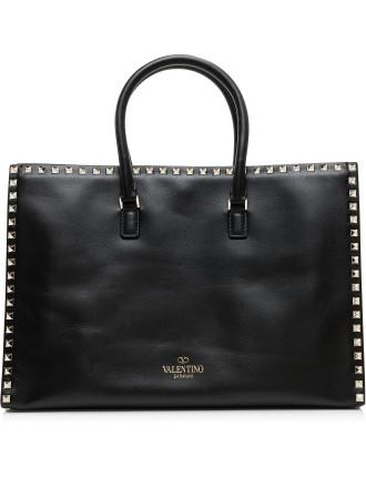 Rockstud - All Around Studs Double Handle Bag