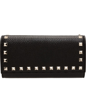 Rockstud - Flap Continental Wallet