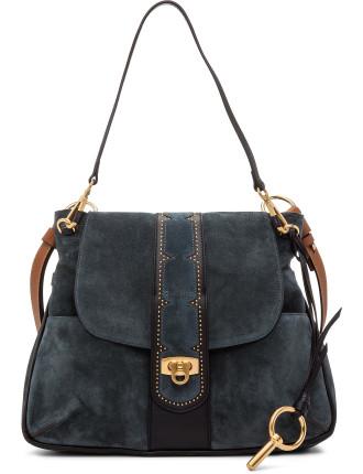 Lexa Medium Shoulder Bag With Studs