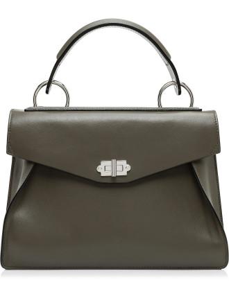 Medium Hava Top Handle-Smooth Leather