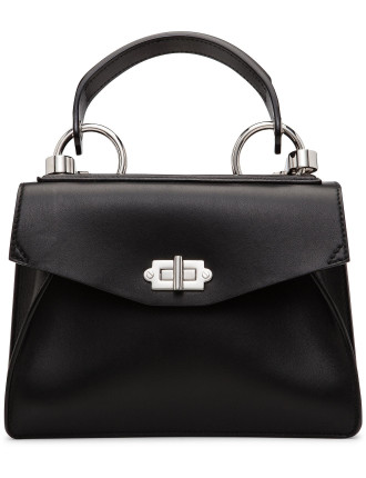 Sml Hava Top Handle W/Patchwork Strap-Smooth Leather