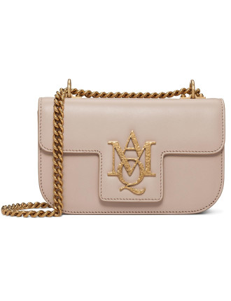 Insignia Small  Leather Gold Chaiin