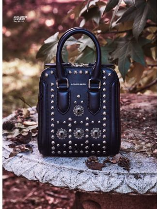 Heroine Small  Leather With Studs