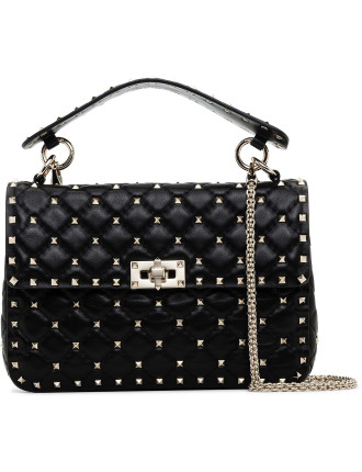 Rockstud Matelasse Medium Shoulder