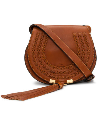 Marcie Small Saddle Bag With Tassel