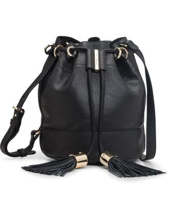 Vicki Tassel Bucket Bag