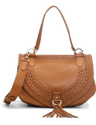 9s7894 P328 Collins Stitch Detail Shldr Bag