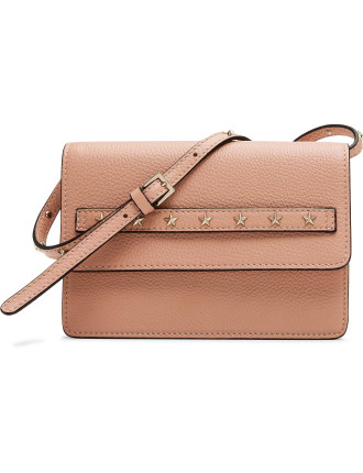 Small Multi Star Mini Cross Body Calf