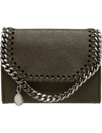 Falabella Shaggy Deer SQ Card Wallet