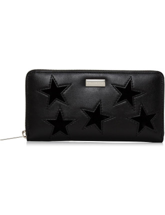 Alter Black SLG Star Zip Around Large Wallet