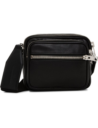 Attica Soft Black LG Crossbody Bag