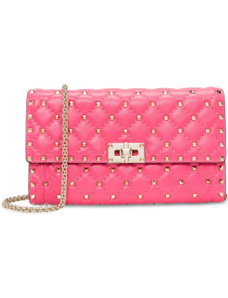 Rockstud Spike Clutch Chain Strap