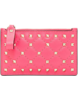 Rockstud Spike Coin Purse Card Holder