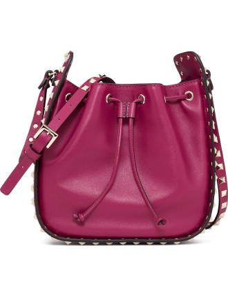 SMOOTH CALF BUCKET BAG