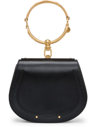 Nile Small Suede Bracelet Bag