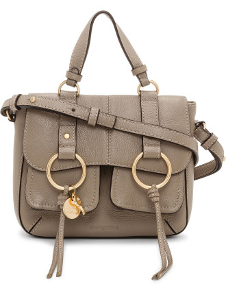 GRAINED LEATHER SMALL FILIPA SHOULDER BAG