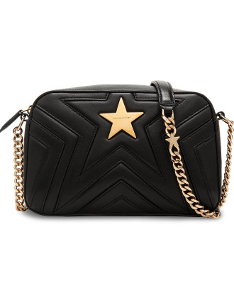 MEDIUM CHAIN QUILT STAR BAG