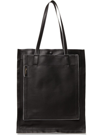SLIM ACCORDION TOTE