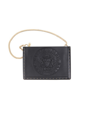 DOMAINE MINI POUCH EMBOSSED
