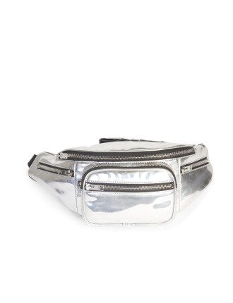 ATTICA SOFT FANNY PACK SLVR SOFT METALLIC/IR