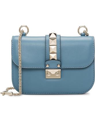 Vitello Lock Small Shoulder Bag