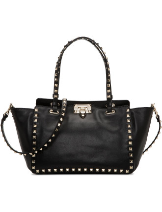 Vitello Rockstud Small Tote