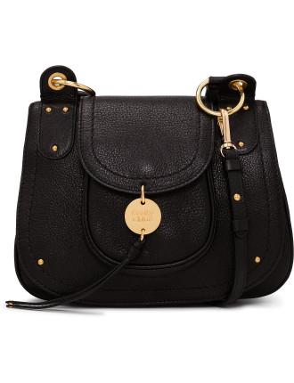 Susie Disc Trim Stitch Detail Shoulder Bag